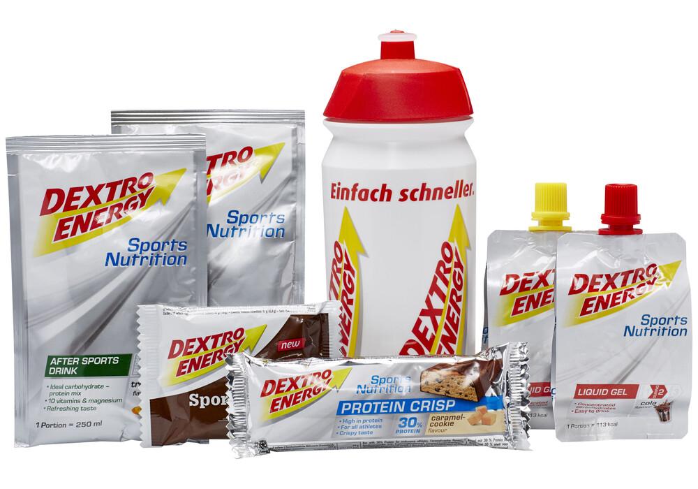 Dextro Energy Testpakket Sportvoeding Met Drinkfles Wit I